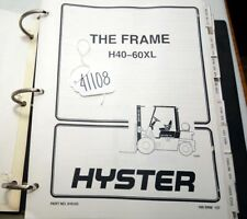 Hyster h40-60xl Fork Lift Service Manual (Inv.41108)