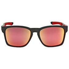 Oakley Catalyst Scuderia Ferrari Ruby Iridium Sunglasses