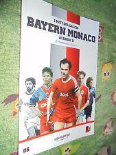 LIBRO BOOK I GRANDI CLUB N°6 BAYERN MONACO AI RAGGI X MITI DEL CALCIO
