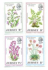 Wildflowers-Jersey set mnh 1972