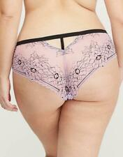 795248bb21fe Lane Bryant CACIQUE Cross-Dyed Orchid Bloom Lace Cheeky Panty - Sexy Adult
