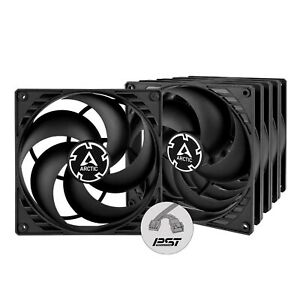 ARCTIC P14 PWM PST (5 Pack) - 140 mm Case Fan with PWM Sharing Technology... New