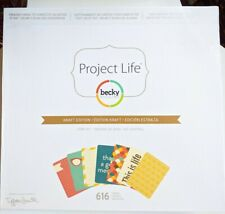 Project Life Becky Higgins Kraft Edition Leerbox