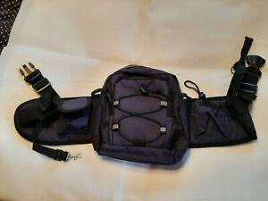 Bauchtasche Futtertasche Wandertasche Tasche für Fahrrad Training Hunde