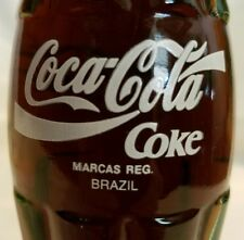 Coca-Cola 6.5 FL Oz Commemorative bottle The Real Thing Around The World Brazil