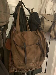 ANTIQUE GAME BAG SHOOTING GAME HUNTING COUNTRY SPORT BRADY Hand Made