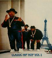 Classik Hip Hop Music CD》Rap》LL COOL J》BIGGIE》NAUGHTY BY NATURE》RUN DMC》KRS 1