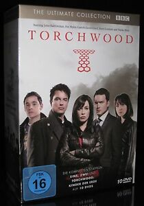 DVD TORCHWOOD - SEASON / STAFFEL 1+2 + KINDER DER ERDE - KOMPLETT *** NEU ***