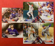 2016 Topps Series 1, 2 & Update Lot You Pick 25 with Inserts