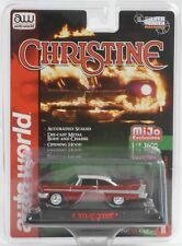 1958 Christine Plymouth Fury Sporco Versione Rosso Cromo in Display 1:64