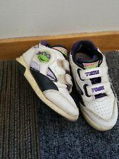 Rare Vintage Teenage Mutant Ninja Turtles Kids Shoes Sz 10.5 TMNT Childrens Cool
