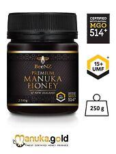 BeeNZ echter originaler authentischer Manuka Honig MGO514 mg/kg UMF™15+ 250 g