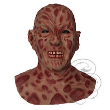 Halloween Latex Horror Famous Burn Face Body Flesh Fancy Costume Dress Up Mask
