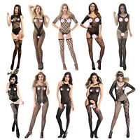 Women Lingerie Bodystocking Sexy Perspective Underwear Babydoll Party Bodysuit