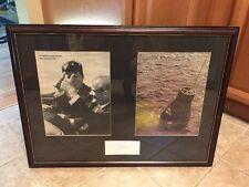 "1960 Mercury 7 John Glenn Jr Autograph - 30""x23"" Framed & Matted - John Kennedy"