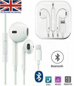 Bluetooth Earphones Headphones Mic for Apple iPhone 7 8 Plus X XR iPad