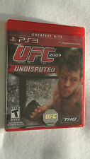 NEW UFC Undisputed 2009 - Greatest Hits Edition (Sony PlayStation 3, 2009)
