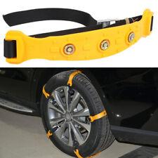 5pcs Car Snow Tyre Chains Belt Beef Tendon Vehicles Wheel Anti-skid TPU Chain