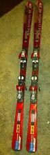Salomon Equipe 10 3V L165 Skis Paired W/Salomon S914 Power Axe Bindings
