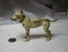 Bull Terrier Pit Bull Dog Austrian Vienna Bronze c1900 Bergmann Antique 4 inches