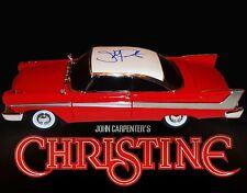 John Carpenter Autographed Christine Die Cast 1:18 Car Horror W/Pic Proof COA