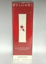 Bvlgari Eau Parfumee Au The Rouge 3.4 oz 100 ml Eau De Cologne Spray New / RARE