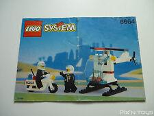 LEGO Notice Instruction / 6664 Chopper Cops