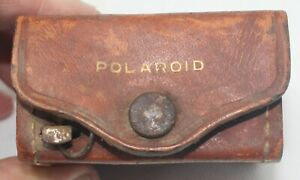 Vintage Polaroid Close Up lens, +1, +2, +4 Case and tape measure for Model 95 ca