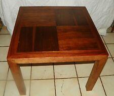 Mid Century Lane Walnut Mid Century End Table / Coffee Table  (RP) (T408)