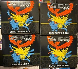 NEW Pokemon Hidden Fates Elite Trainer Box ETB SEALED / IN STOCK / FREE SHIPPING