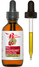 Red Raspberry Seed Oil - 2 fl oz (60 mL) - Cold-Pressed by Berry Beautiful