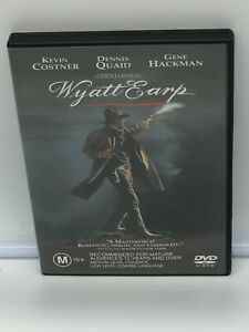Wyatt Earp (DVD, 2004) Very Good Condition Region 4