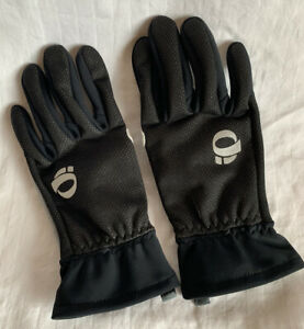 Pearl Izumi Full Finger Insulated Gloves Black Small - Very Good Condition