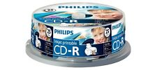 CD-R Imprimible por inyección de tinta Philips 52x 700 MB 80 Min - 25 Pack Huso