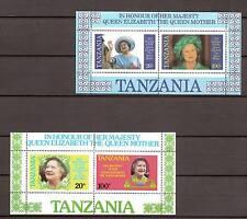Tanzania - 1985 - Mi. Blok 42-43 (Elizabeth) - Postfris - MO005