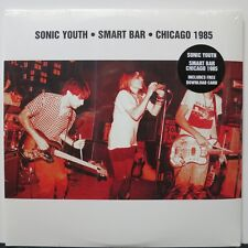 SONIC YOUTH 'Smart Bar Chicago 1985' Vinyl 2LP + Download NEW/SEALED