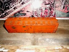American Flyer Solid Illinois Central 923 Reefer Shell With Both Catwalks Parts