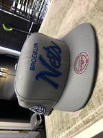 Brooklyn Nets Mitchell & Ness Snapback Hat Cap Adjustable Fit NBA NOS