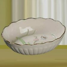Lenox China Butterfly Open Oval Dish -Fill w/ Candy & Wrap For A Beautiful Gift!