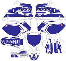Vibrant Highlighter YAMAHA GRAPHICS  YZ 250f YZ250f 2006 2007 2008 2009 Blue
