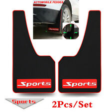 2pc Black Universal Splash Guards For Car SUV Mudflaps Mud Flaps Mudguard Fender