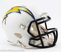 San Diego Chargers 2007-2018 Throwback NFL Revolution Speed Mini Football Helmet