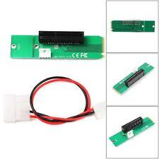 PCI-E large bande 1x / 4 x carte pour NGFF M.2 m PCIe clé SLOT