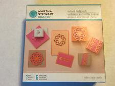 NEW SEALED MARTHA STEWART CRAFTS CUT AND FOLD PUNCH SET #2 DAHLIA