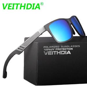 Men Aluminum Polarized Sunglasses Sports Driving Mirrored Sun Glasses Eyewear