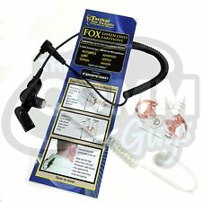 FOX 3.5MM RECEIVE ONLY EARPIECE FITS MOTOROLA HARRIS M/A-COM KENWOOD TAIT VERTEX