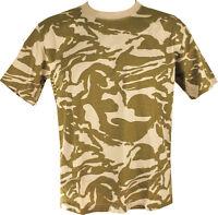 Military Army T Shirt Desert Camoflage COMO SAS PARA