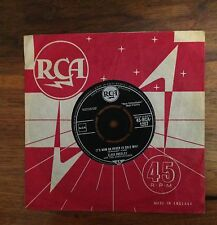 ELVIS PRESLEY - It' s now or never / Make me know it - RCA 45-RCA-1207 - Made UK
