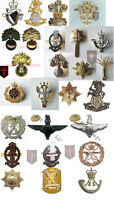Large Lot - 1 - NEW Official British Infantry Metal Cap Badges  ( 100% UK Made