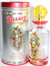 VILLAIN BY ED HARDY 2.5 OZ EDP SPRAY FOR WOMEN NEW IN BOX